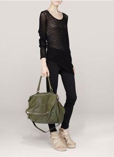 Givenchy Pandora large leather shoulder bag