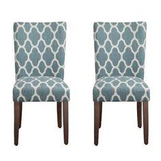 Simpli Home Ashford Parson Dining Chair, Stone Grey (Set ...