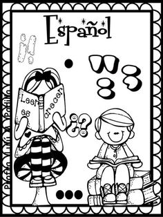 School Template, School Labels, Grammar Book, Preschool Education, Borders And Frames, Miguel Angel, Worksheets For Kids, Colouring Pages, School Projects