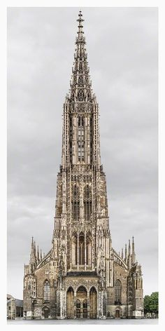 <p>German artist Markus Brunetti traveled around continental Europe and the British Isles to photograph hyperrealistic portraits of detailed churches and cathedrals in his series titled Facades. By ph