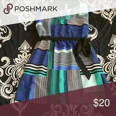 Motherhood Maternity shirt ♡PRICE DROP♡This light weight maternity shirt is great for all seasons, you can wear alone or pair with a cardigan! Size M with a black sash! Motherhood Maternity Tops Blouses