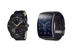 Samsung and LG have announced their new smartwatch models on Wednesday in bid to get word out before Apple's iWatch is unveiled. http://www.ibtimes.com/samsung-gear-s-lg-g-watch-r-smartwatches-unveiled-ahead-apple-iwatch-announcement-1672014