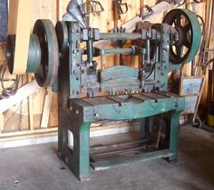 Antique Tooling - Joel Sanderson Studio-Machines-Sheer