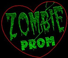 Zombie Prom at Vroman's Hastings Ranch Zombie Party Decorations, Zombie Princess, Zombie Prom, Zombie Movies, Costume Contest, Halloween Party, Invite, Invitation, Neon Signs
