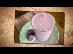 Strawberry Cream Smoothie - gestational diabetes recipes