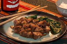 Porc Hong Shao 红烧肉 hóng shāo ròu Mao Zedong, Cata, Steak, Chinese New Year, Asian Cuisine, Pork, Food, Recipe, Asia