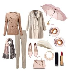 """Rainy day..."" by jasive-asseff-jamous on Polyvore featuring Michael Kors, Bickley + MItchell, Pure Collection, J.Crew, Martha Stewart and Chanel"