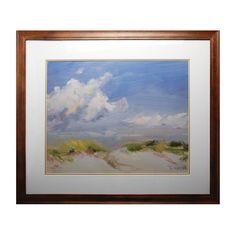 "1STOPlighting.com   39"" Clouds Decorative Framed Art"