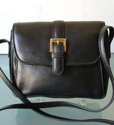 Vintage Made in Italy Burberrys Leather by EurotrashItaly on Etsy, $84.99