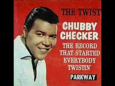 """Chubby Checker released, """"The Twist"""" in 1959.  This was the first popular dance where men and women did not touch."""