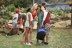"""""""Luke Out Below"""" – Luke returns to camp and decides to take Griff and Zuri on an…"""