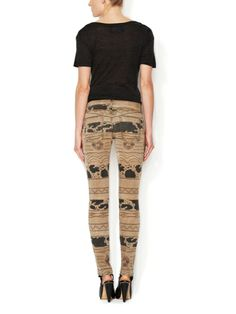 The Ankle Skinny Distressed Jean by Current Elliott at Gilt