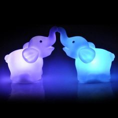 Cheap party decoration, Buy Quality party party party directly from China party led Suppliers: Ouneed New Elephant Color Changing LED Night Light Lamp Wedding Party Decorative