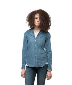 rag and bone denim button down shirt