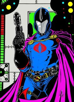 Cobra Commander - Optic-AL on deviantART