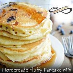 Ingredients   6 cups all purpose flour  ¼ cup granulated sugar  3 tablespoons baking powder  2 teaspoons baking soda  1 teaspoon sa... #buttermilkpancakesrecipesugar