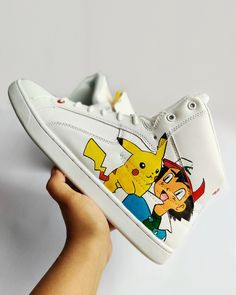 10+ Pokemon Custom Sneakers \u0026 Shoes ideas