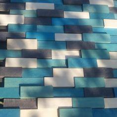 Tablou decorativ din resturi de lemn de fag, colorate cu bait pe baza de apa