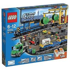 New! lego city #cargo #train #60052 box set,  View more on the LINK: 	http://www.zeppy.io/product/gb/2/282346614829/