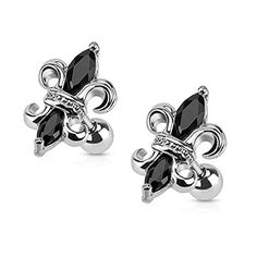 Unique Design Stud Earrings Special Cute Monster Helix Cartilage Ear Studs 316L Stainless Steel Ear Piercing Jewelry For Unisex