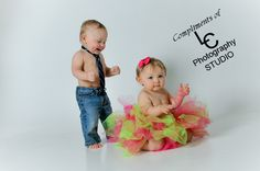 My twins - 1st Year Pictures