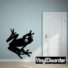 Frog Wall Decal - Vinyl Decal - Car Decal - 001