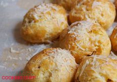 Gougères au parmesan au Cooking Chef