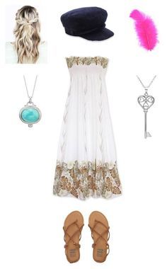 """""""Sophie Hathaway (Pupanunu Village)"""" by maxinezorualuna ❤ liked on Polyvore featuring Maison Michel, Amanda Rose Collection and Billabong"""