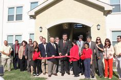 Grand Opening of La Terraza at Lomas Del Sur in Laredo, Texas - October 30, 2012. An NRP Group LLC development with Aguillon & Associates