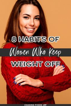 You know those people who never seem to gain weight no matter what they eat? Well, there's certainly something genetic about that. But it's also behavioral too! These healthy habits of people who never gain weight will help you in your weight loss goals. It's quite simple really: if you never gain weight you never have to lose it! #ChasingFoxes #LoseWeight Weight Loss Goals, Weight Gain, Women Life, Genetics, Eating Well, Healthy Habits, Health And Wellness, Simple, Health Fitness