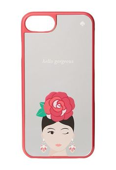 Kate Spade New York Rosie Phone Case for iPhone 7 (Pink Multi) Cell Phone Case - Kate Spade New York, Rosie Phone Case for iPhone 7, 8ARU1851-673, Bags and Luggage Small Goods Cell Phone Case, Cell Phone Case, Small Goods, Bags and Luggage, Gift, - Fashion Ideas To Inspire