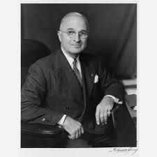 Harry S Truman (May 1884 – December an American politician who served as the US President assuming the office upon the death of Franklin D Roosevelt during the waning months of World War II. List Of Presidents, American Presidents, American History, University O, Harry Truman, The Marshall, American Revolutionary War, Head Of State, British Invasion