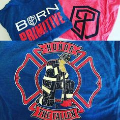 """AVAILABLE NOW!! Another amazing supporting partner @bornprimitive product is available for you all to sport at the firehouse at the gym or on the mean streets of Anywhere USA.  And a great review below proves its street cred.  @Regrann from @grindersgearreview -  I know """"it's just a shirt"""" but this really is one of the most incredible shirts I've ever trained in. Check out the review of the @bornprimitive Brand PR shirt at the link in our bio. @555fitness @555pip #fitness #training #crossfit…"""
