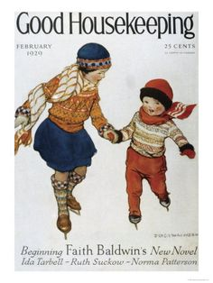 "by Jessie Wilcox Smith Feb, 1929 Vintage Winter - Also see N. Kelly's ""Christmas Images"" board."