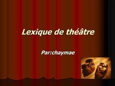 Lexique de théâtre