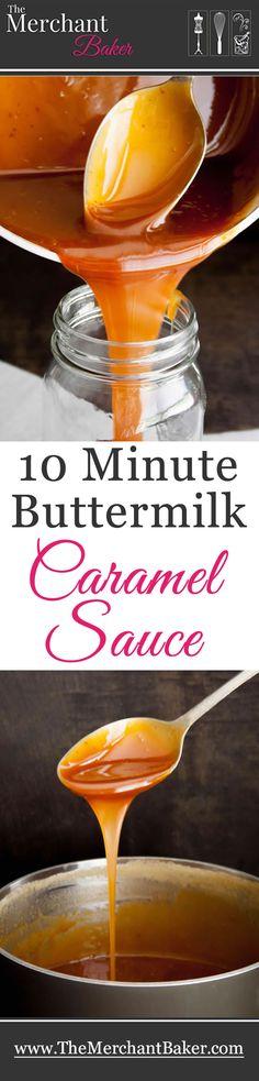 10 Minute Buttermilk Caramel Sauce Round 2