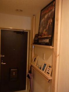 賃貸でもできる壁収納DIY☆壁に穴を開けないディアウォールの使い方7選 | iemo[イエモ]