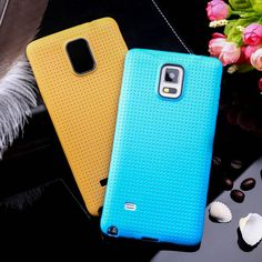Soft TPU Cell Phone Cases For Samsung Galaxy NoteIV N9100 Note 4 Covers Case N9108 Note4 N910 Note IV Housing Bags Skin Shells