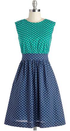 Navy blue and white striped sleeveless dress  49adbb8fd