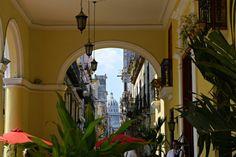 Blick auf das Kapitol in Havanna