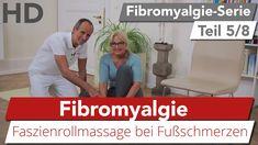 Fibromyalgie // Übung gegen schmerzende Füße, Faszienrollmassage