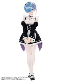 1/3 Hybrid Active Figure No.057 Re:ZERO -Starting Life in Another World- Rem Complete Doll(Pre-order)