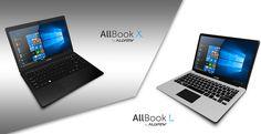 Allview lanseaza Allbook, gama de notebook-uri cu SSD optional si Windows 10