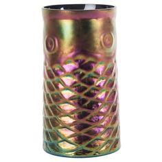 Modernist Aurene Glass Fish Vase #huntersalley