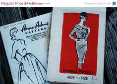 55% AnnualPatternSale Anne Adams 4626 1960s by EleanorMeriwether