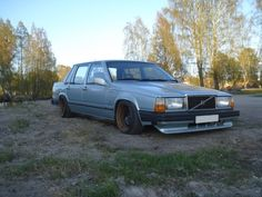 blue volvo 740 with black steelies - Google zoeken