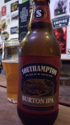 Cerveja Southampton Burton IPA, estilo India Pale Ale (IPA), produzida por Southampton Publick House, Estados Unidos. 6.5% ABV de álcool.