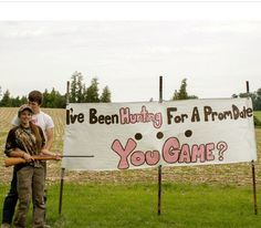 hunting for prom date!