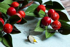 Quilled Cherries Tutorial - Quilling by ManuK