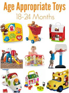 Developmental Toys and Current Milestones for 18-24 Months of Age Children